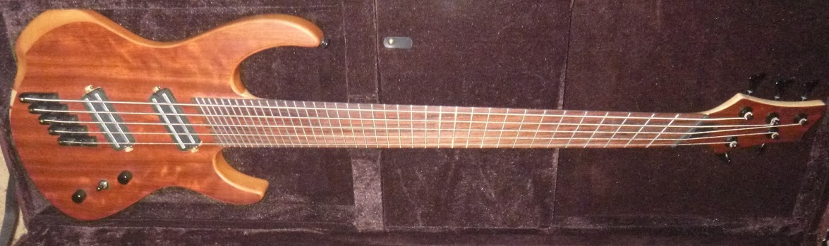 "19-EDO 5 string Bass 34""-37"" scale length"
